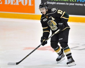 Seth Griffith of the London Knights - Terry Wilson/OHL Images
