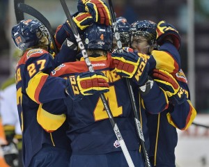 Erie Otters - Photo by Terry Wilson/OHL Images
