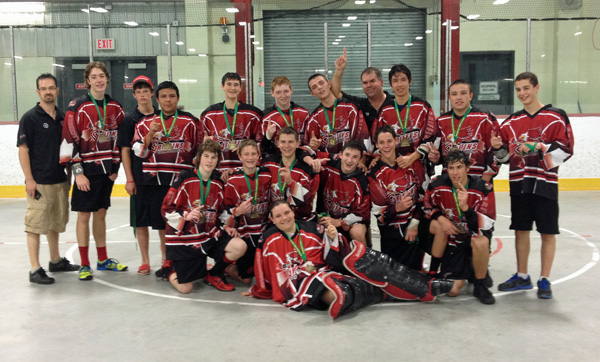 Wallaceburg Griffins Midget Champions - Contributed Photo