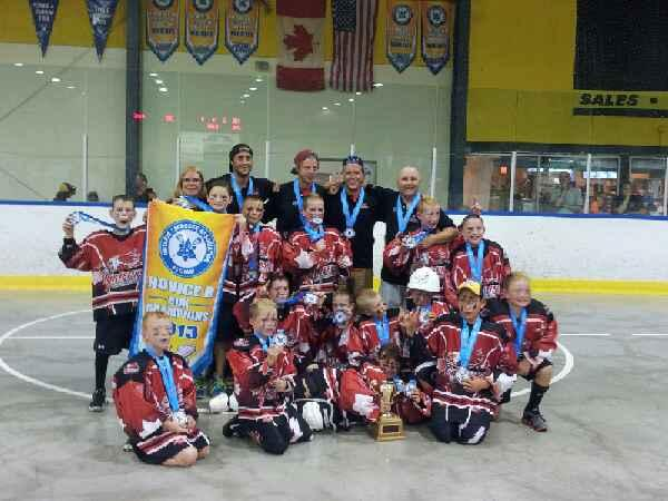 Wallaceburg Griffins Novice Ontario Champions 2013