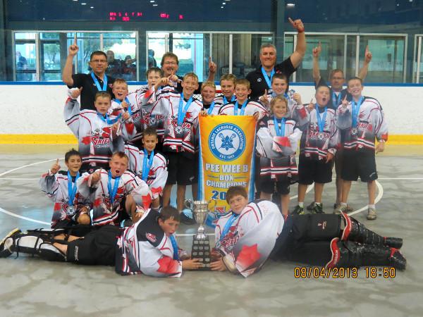 Wallaceburg Griffins 2013 Ontario Champions