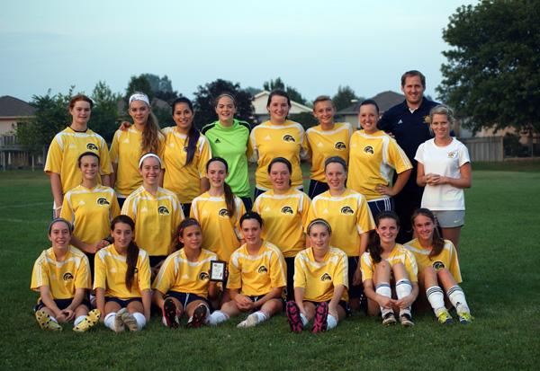 CKSS Junior Girls Soccer Red Feather Champions - CKSN.ca Photo