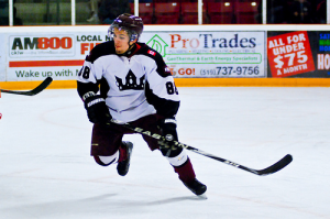 Brennan Rainey playing with the Dresden Kings - Photo by David DeHoey