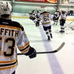 Seth Griffith at the NHL Rookie Tournament with the Boston Bruins - Photo from Bruins.NHL.com