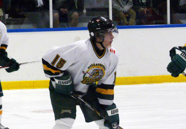 Connor Johnston of the Wallaceburg Lakers in Mooretown - Photo by Gail Cook