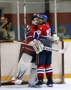 James Shelton of the Belle River Canadiens