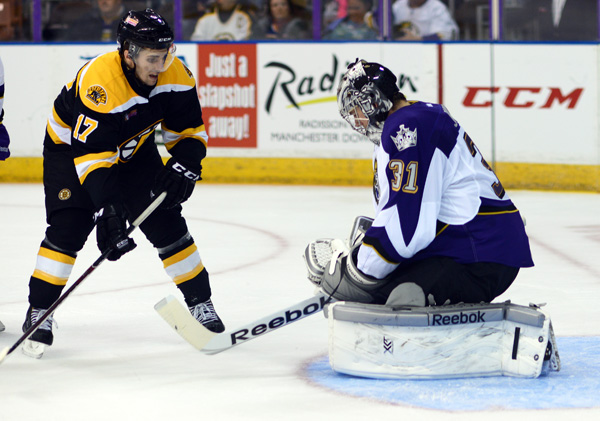 Seth Griffith of the Providence Bruins