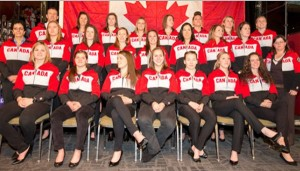 Team Canada - Photo from HockeyCanada.ca