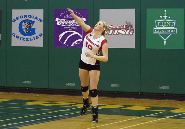 Ashley Hosfeld at the OCAA championships