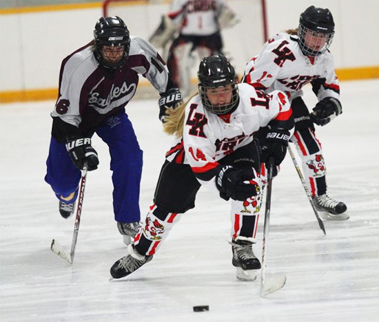 Kaley Veldboon - LKCS Cardinals Hockey