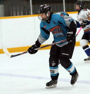 Rachael Tricker of the Bluewater Hawks - Photo by Wyatt Williams