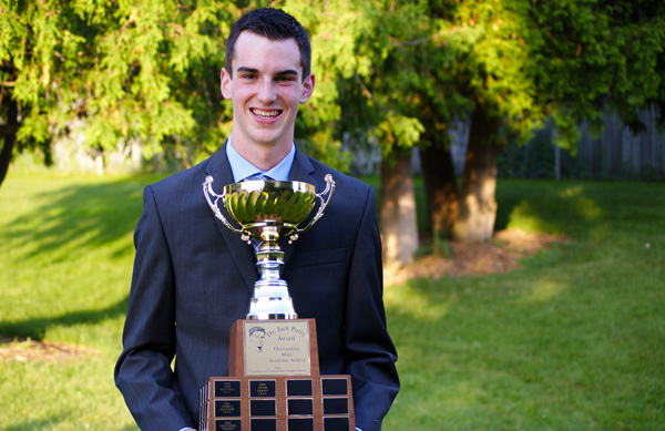 Jake Lindley - 2014 Dr. Jack Parry Award