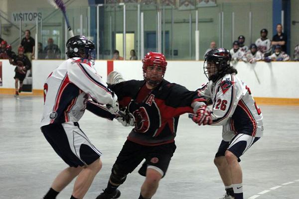 Jordan Durston Wallaceburg Red Devils