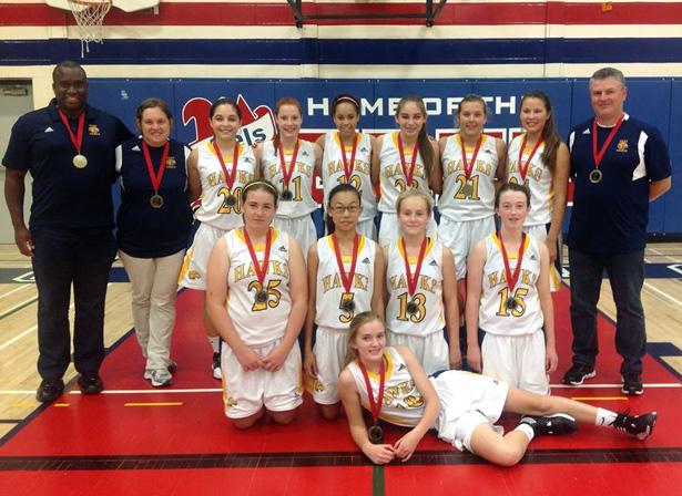 CKSS Golden Hawks Junior Girls Basketball
