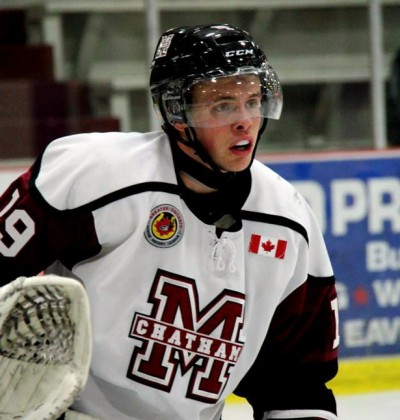 Levi Tetrault - Chatham Maroons prospects