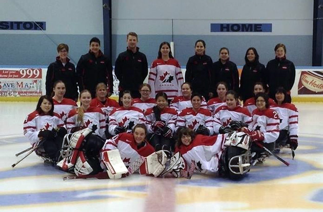 Ashley Goure Sledge Hockey