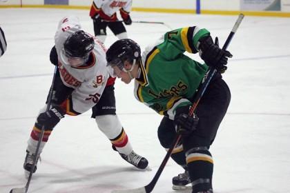Brendan Ritchie and Blair Derynck - Hockey
